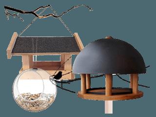 Fuglehuse og foderbræt