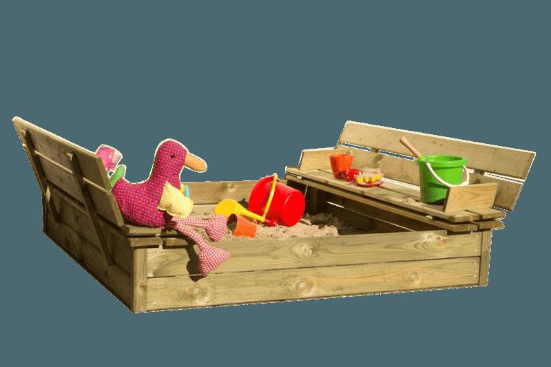 Sandkasser i træ