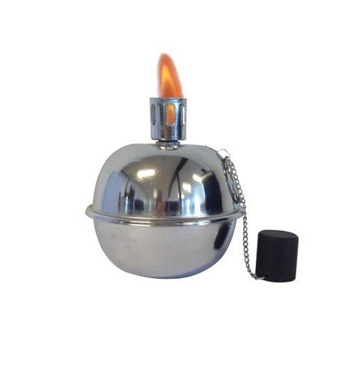 Tumble Torch sølvlook ø14