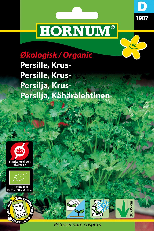Image of   Hornum Økologisk Persille, Kruspersille, Grüne Perle