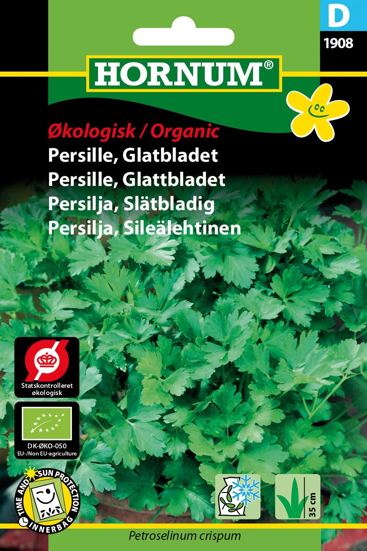 Image of   Hornum Økologisk Persille, Glatbladet