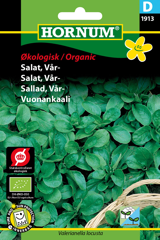 Image of   Hornum Økoloigsk Salat, Vårsalat, Vit