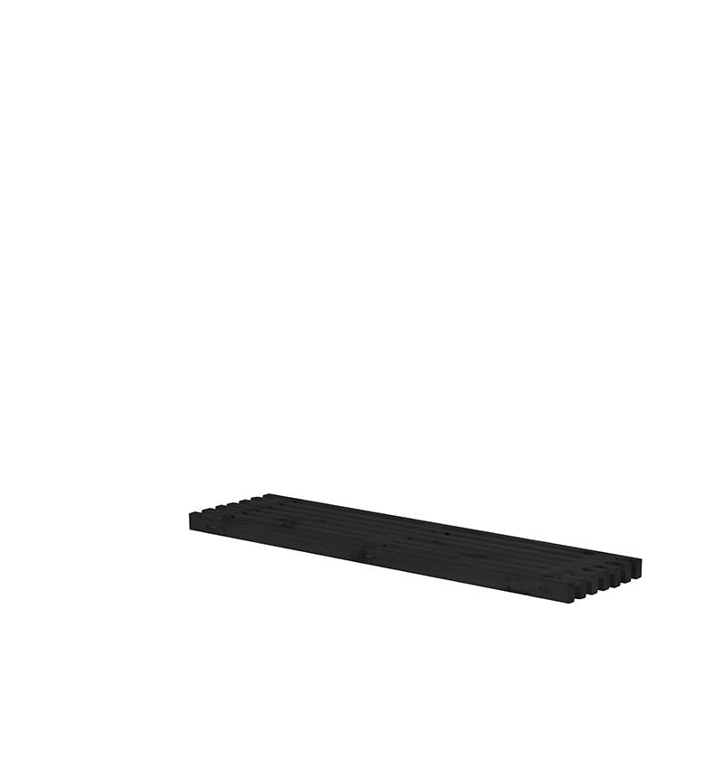 Løs tralle 36x140 cm - sort