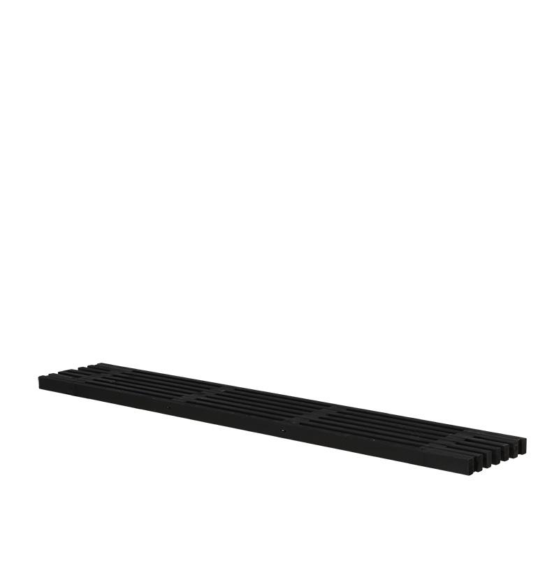 Image of   Løs tralle 36x220 cm - sort