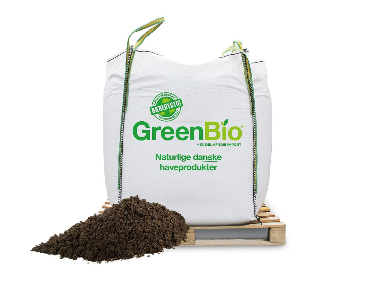 Image of   GreenBio Krydderurtemuld bigbag á 1000 liter