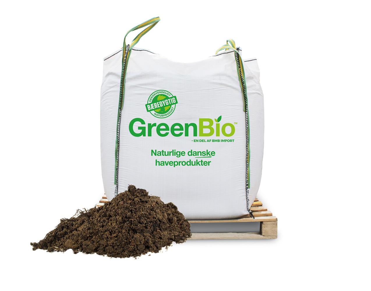 GreenBio Rosenjord – Bigbag á 1.000 liter