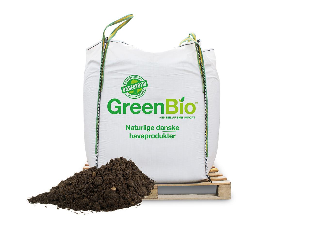 Image of   GreenBio Allétræsmuld bigbag á 1000 liter