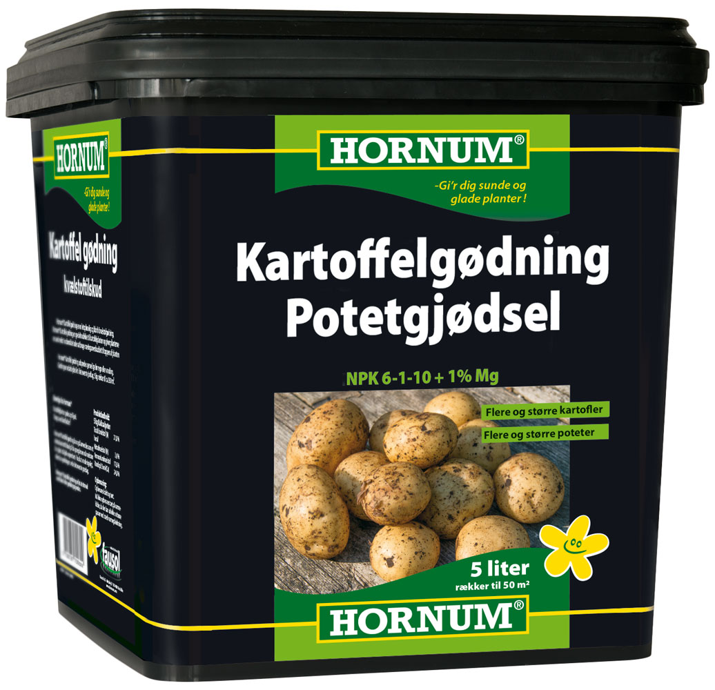 Hornum Kartoffelgødning - NPK 6-1-10 - 5 liter