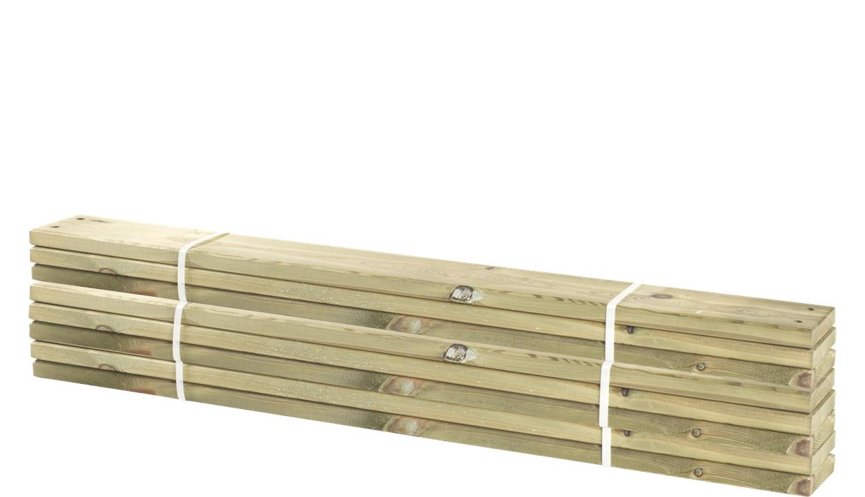 Image of   8 stk. planker til Pipe 28x120mm x120cm