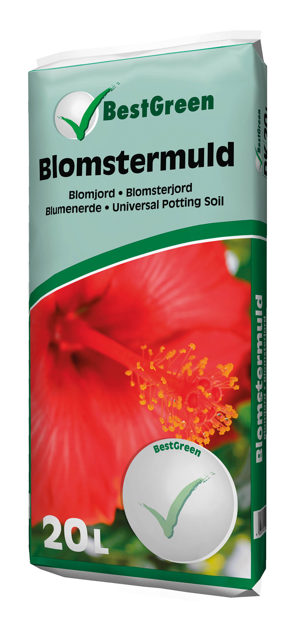Image of   Blomstermuld BestGreen 20 liters pose