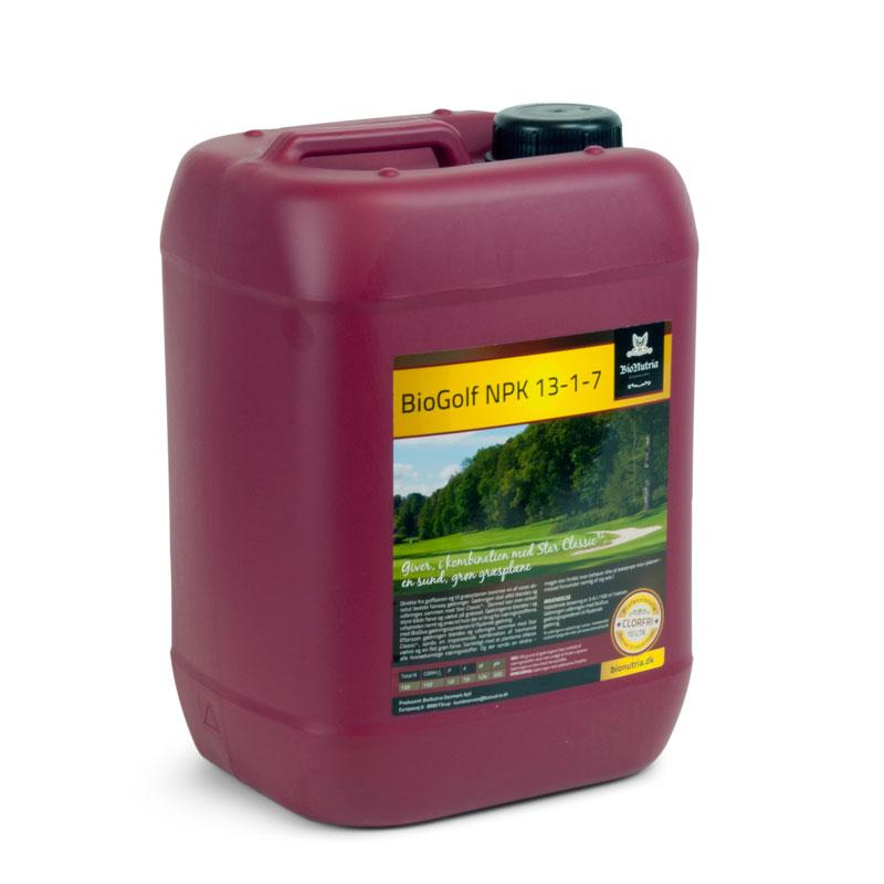 Image of   BioNutria BioGolf NPK 13-1-7 - 10 liter