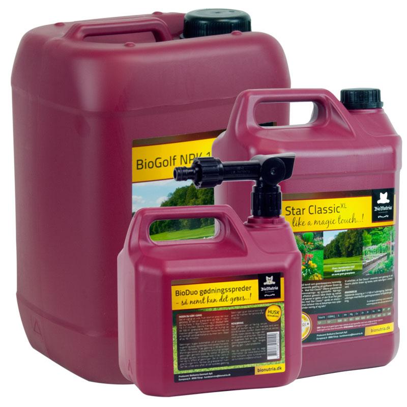 Image of BioNutria Plænepakken - 15 liters plænegødning