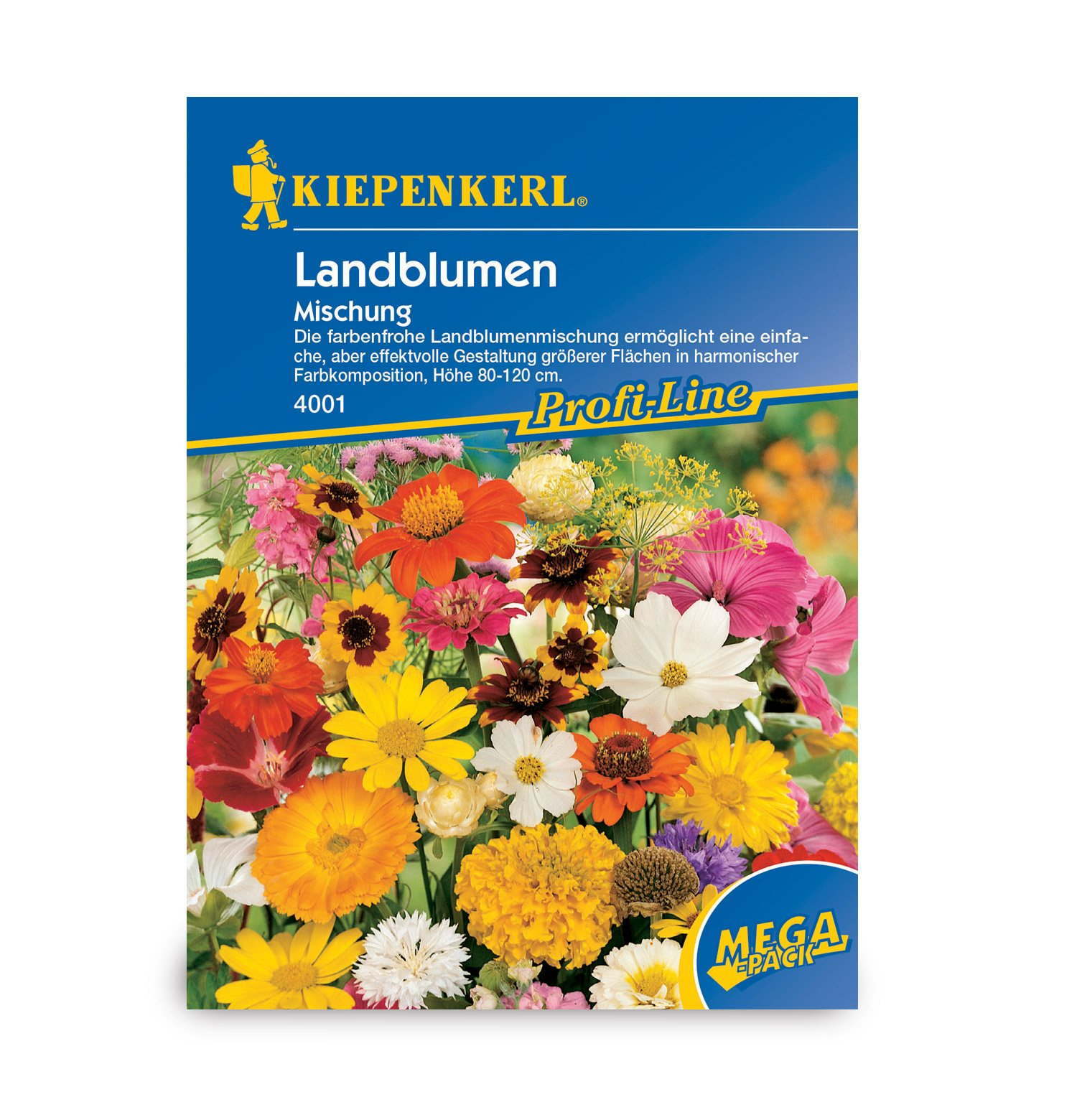 Image of Blomsterblanding - Blomster idyl 25 m2