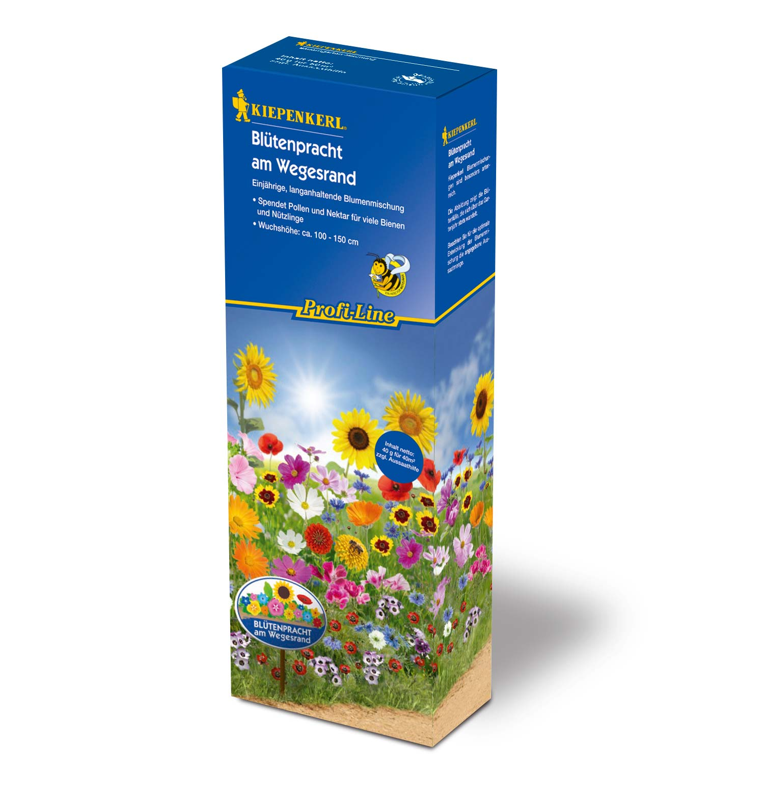 Image of   Blomsterblanding - Grøftekantens blomster 40 m2