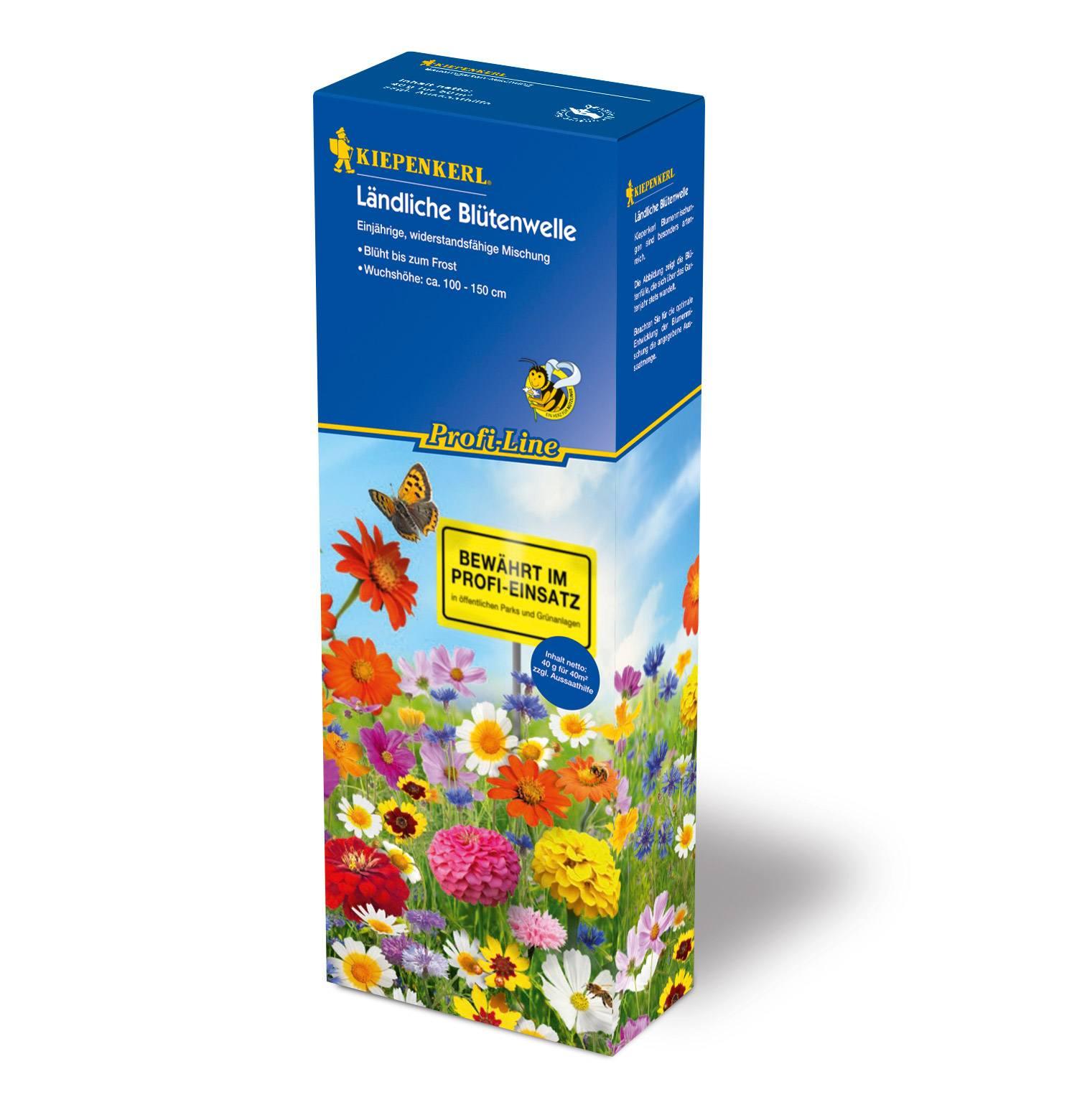 Image of   Blomsterblanding - Markblomster 30 m2