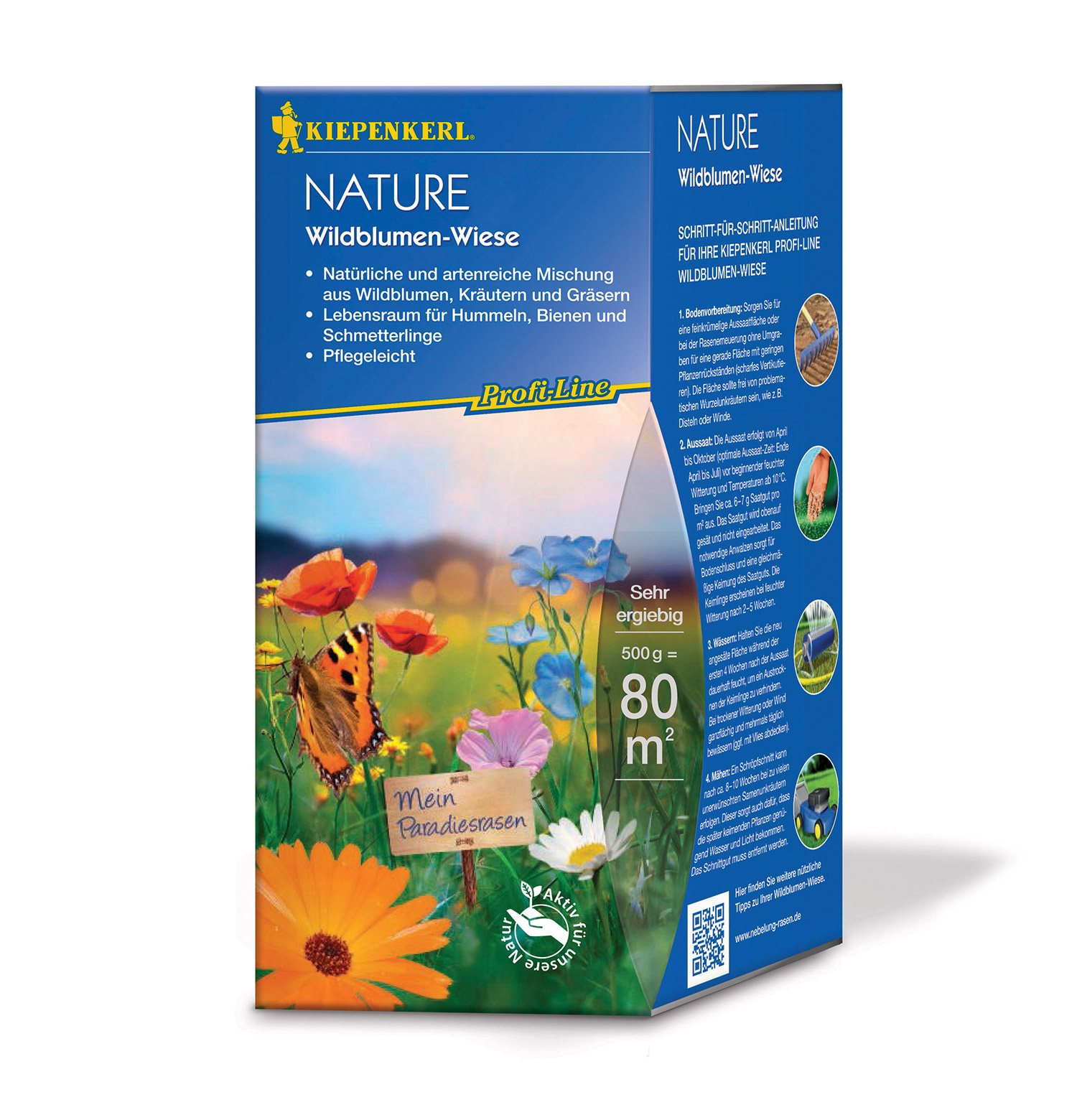 Image of   Blomsterblanding - Natureng med blomster 80 m2