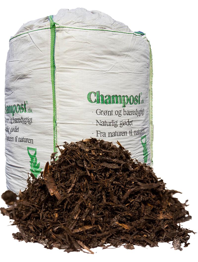 Champost Jordforbedring, 100% organisk - 3000 l