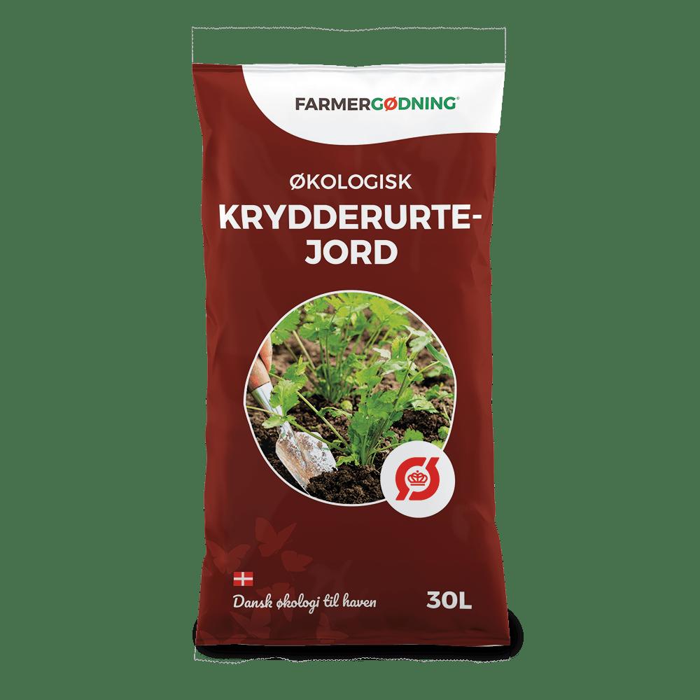 Økologisk krydderurtejord 30 liter