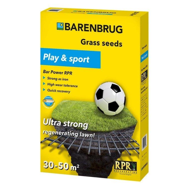 Græsfrø Barenbrug Play & sport - Bar Power RPR plæne 1 kg