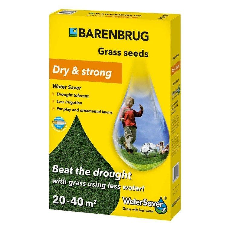 Græsfrø Barenbrug Dry & strong - Water Saver plænegræs 1 kg