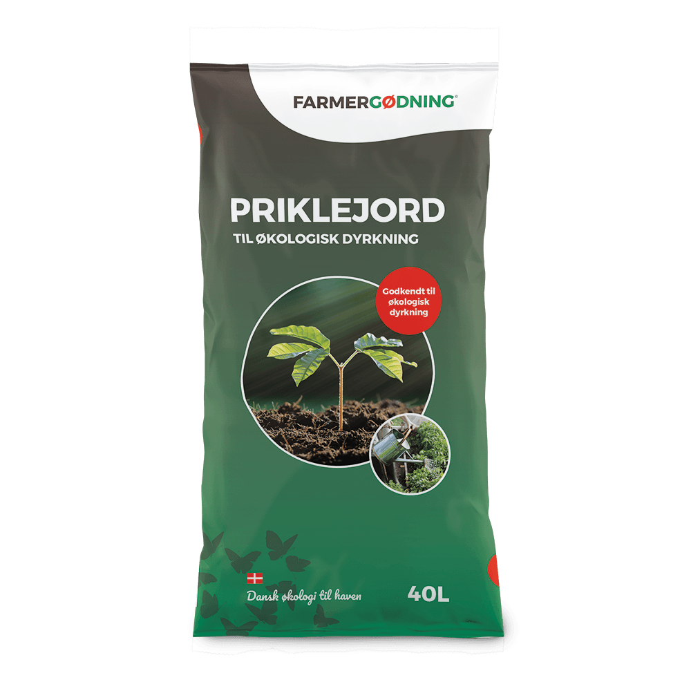 Priklejord til økologisk dyrkning