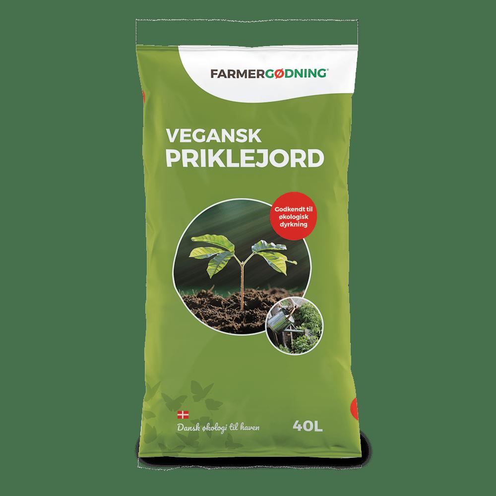 Vegansk priklejord fra Farmergødning