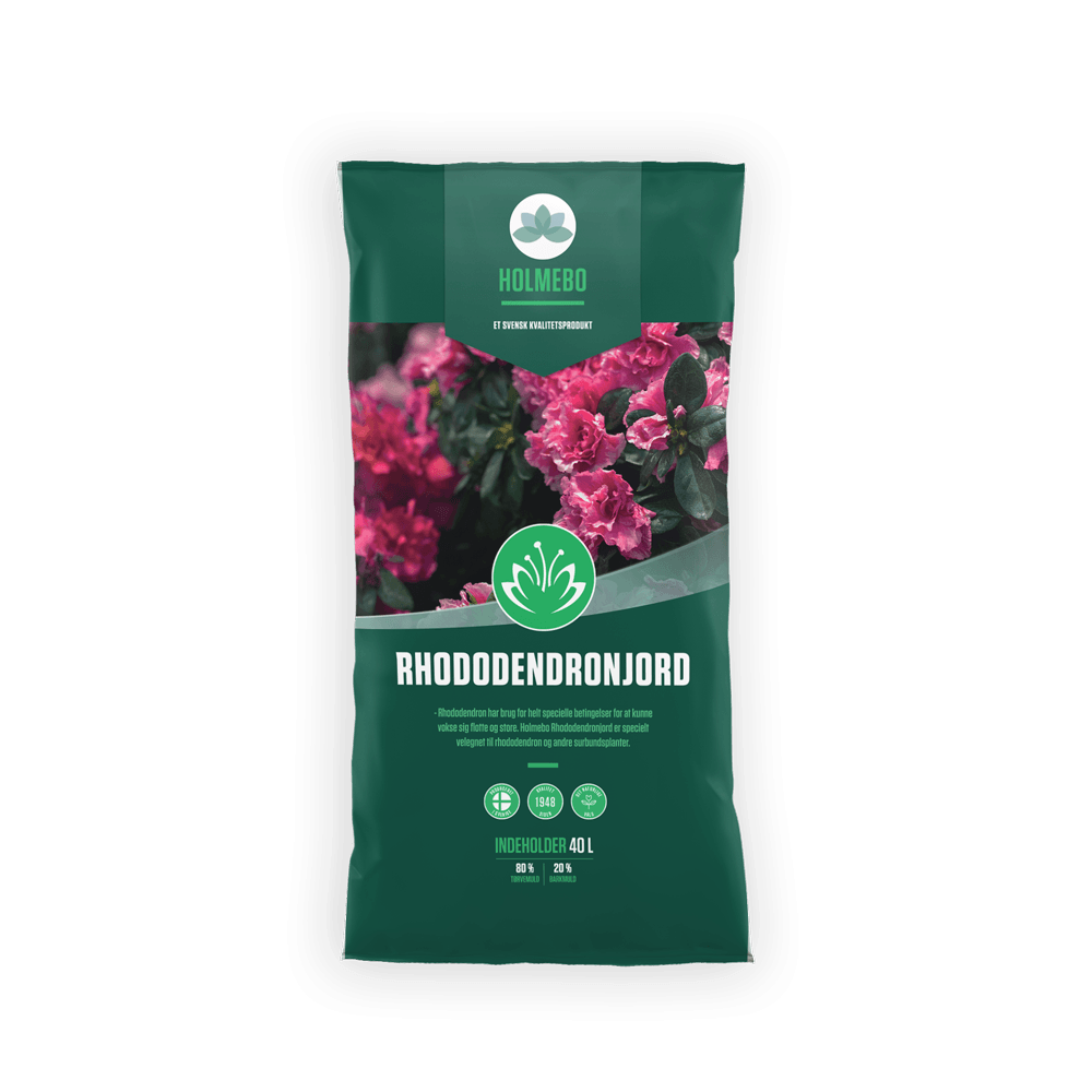 Holmebo Rhododendronjord - 40 liters poser