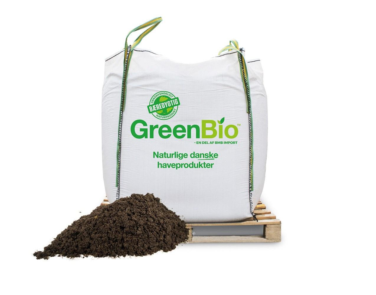 GreenBio Højbedsmuld bigbag á 1000 liter