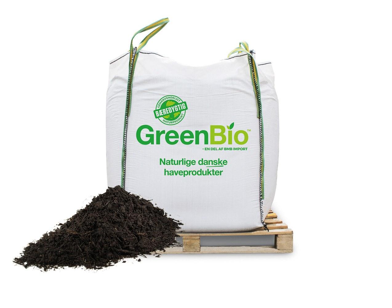 GreenBio Varmebehandlet Kompost