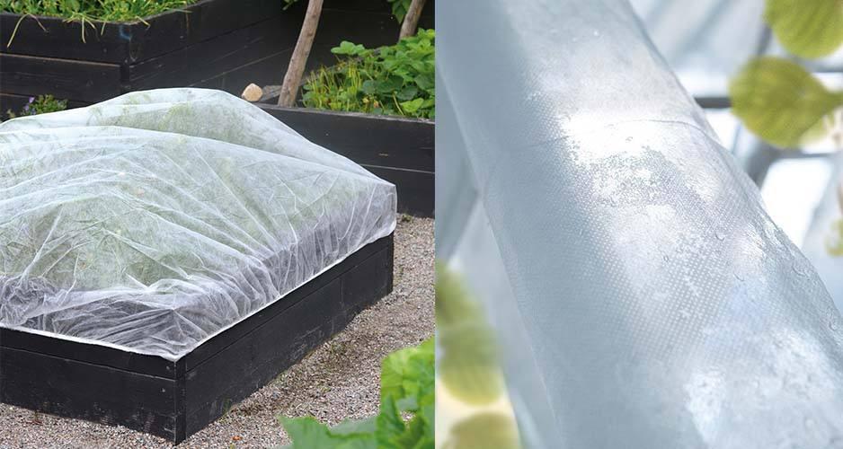 Fiberdug til palleramme, med elastik 1,4x1,8m