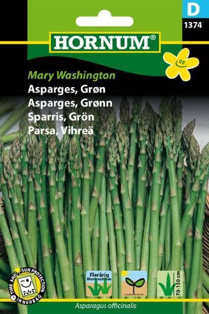Asparges, grøn