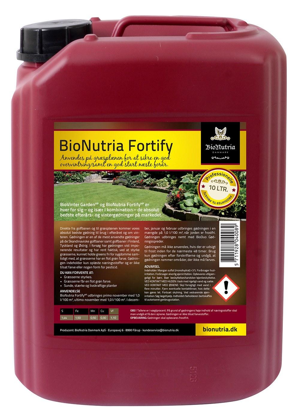 BioNutria Fortify Plænegødning - 10 liter