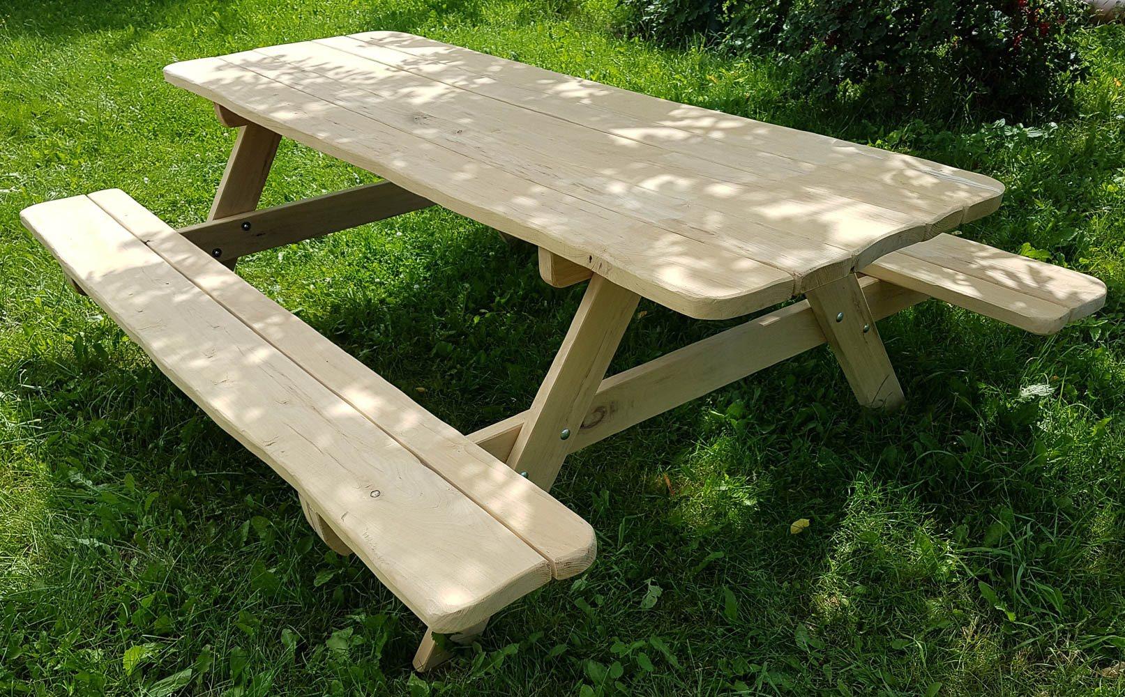 Frigg havebord - Bord-bænkesæt i holdbar robinietræ