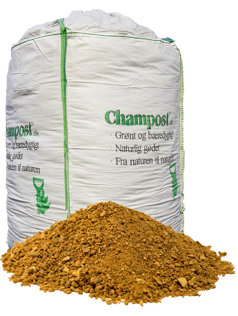 Champost Afretningsgrus / Brolæggergrus 0-8 mm - bigbag 1 ton