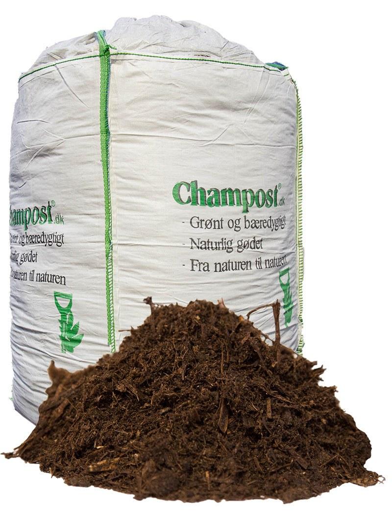 Champost Drivhusblanding - bigbag á 1500 liter