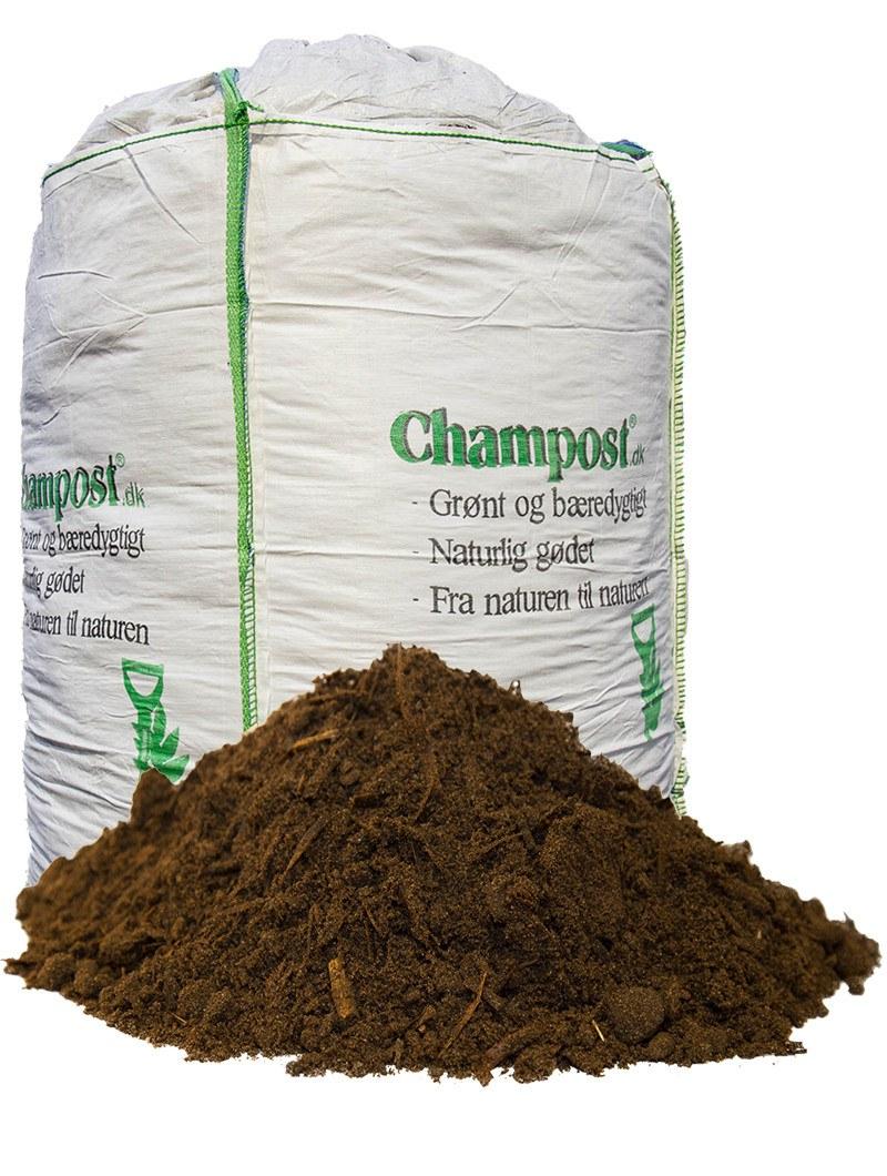 Champost Hækmuld - Bigbag á 900 liter