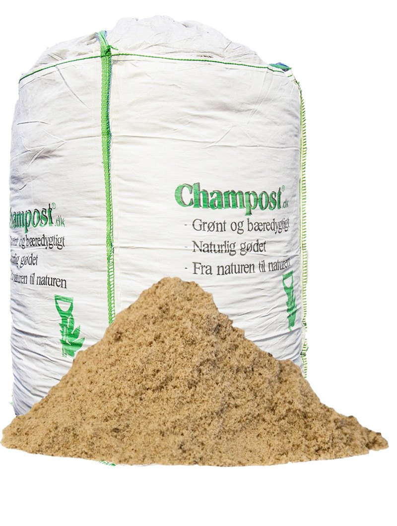 Champost havsand 0-2 mm - bigbag á 1 ton