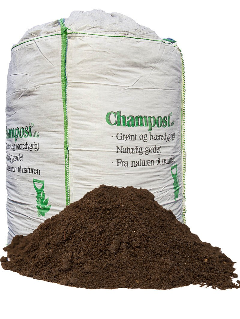 Champost Højbedsmuld - Bigbag á 900 liter
