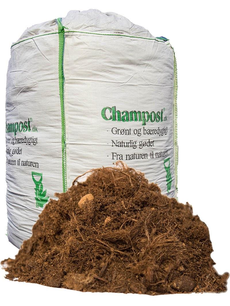Champost Planteskolejord - bigbag á 3000 liter