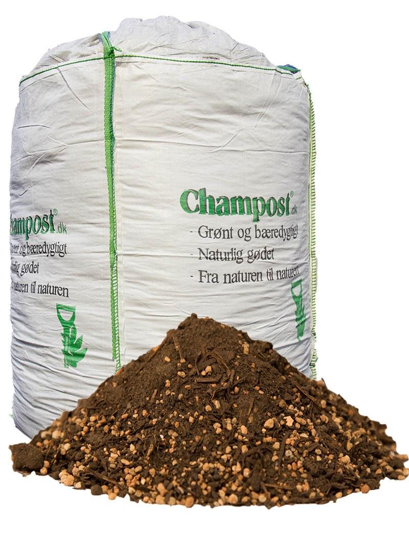 Champost Sphagnumfri jord - bigbag á 900 liter