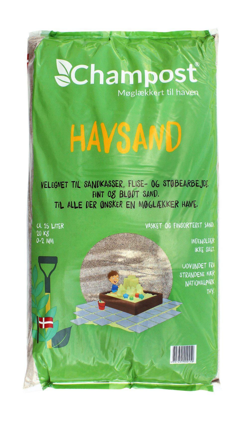Champost Havsand 15 liter