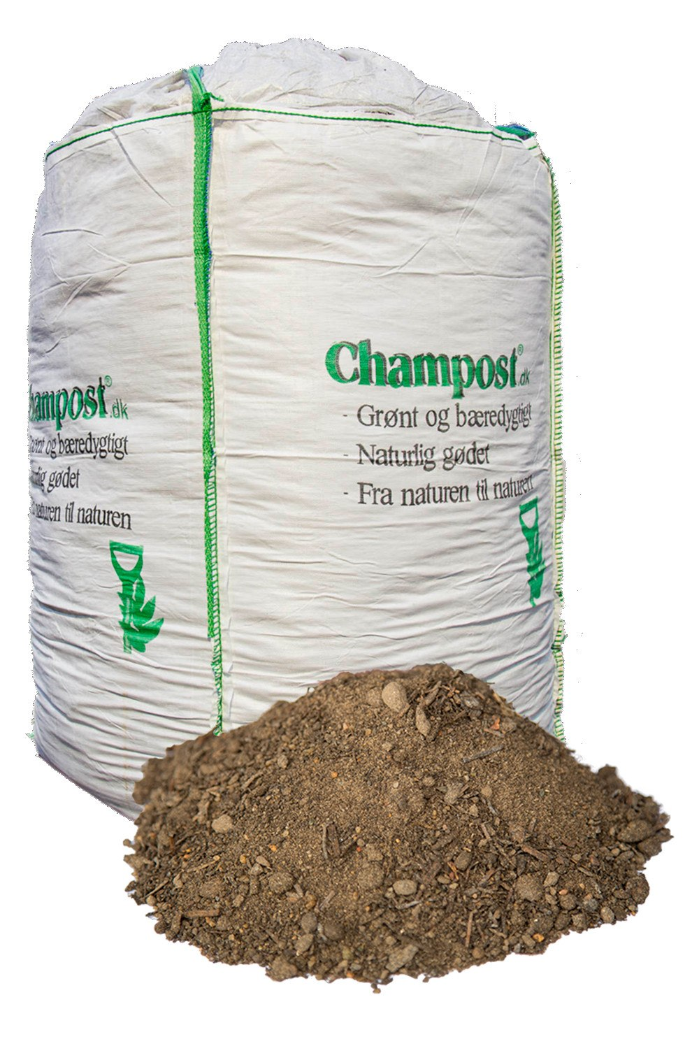 Champost Plantemuld - 900 liter