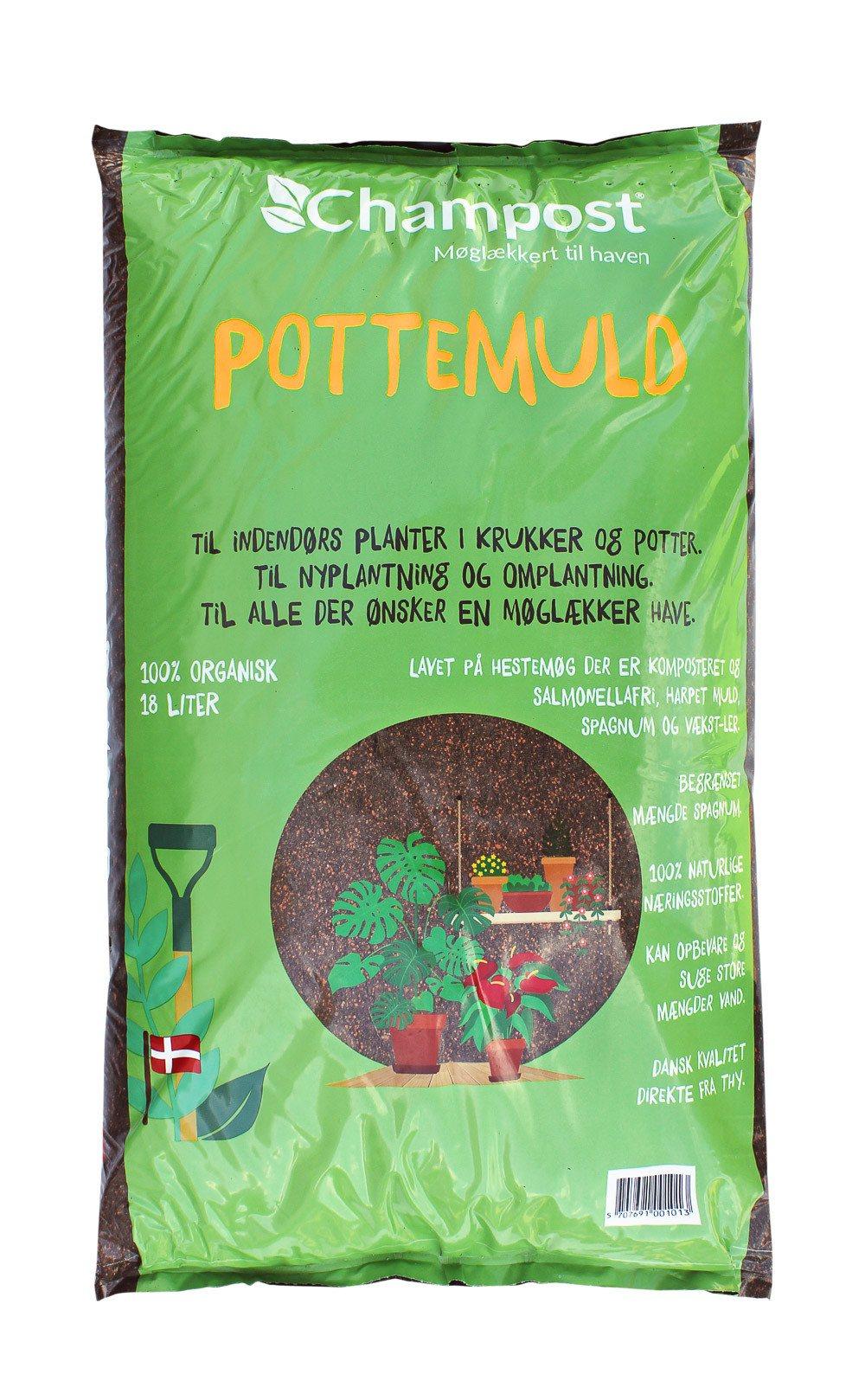 Champost Pottemuld 18 liter