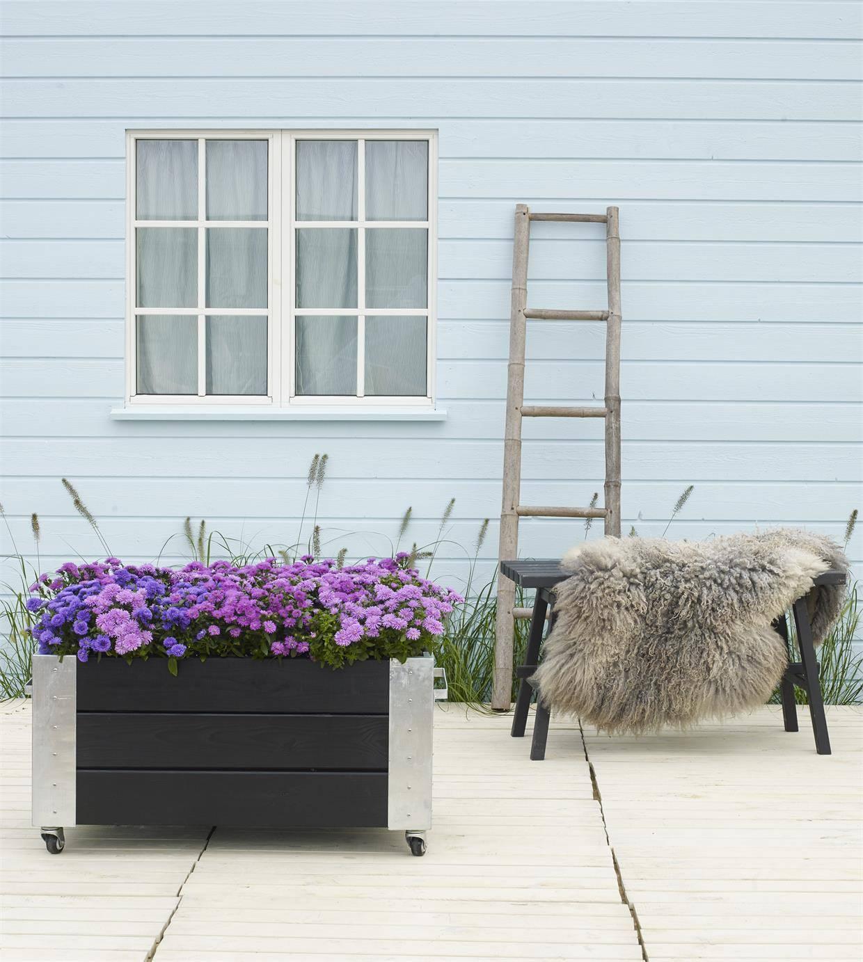 PLUS Cubic blomsterkasse 87x50x45cm