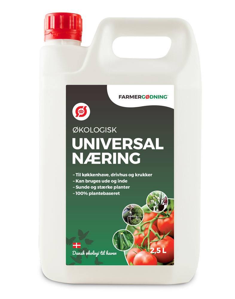 Økologisk flydende universalgødning 2,5 liter