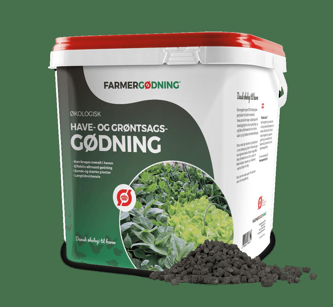 Økologisk havegødning 5 liter spand