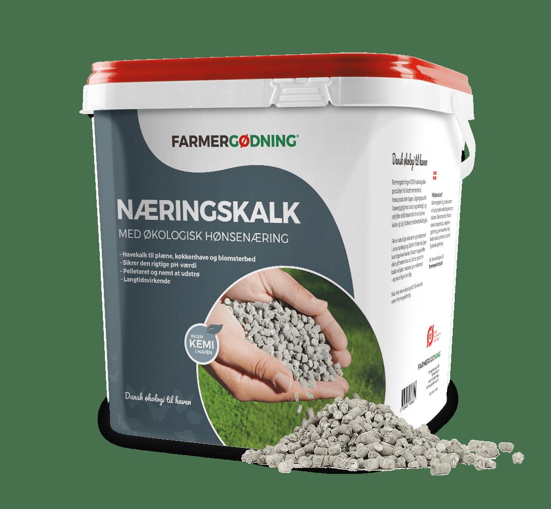 Farmergødning næringskalk med økologisk hønsenæring - 5 liter