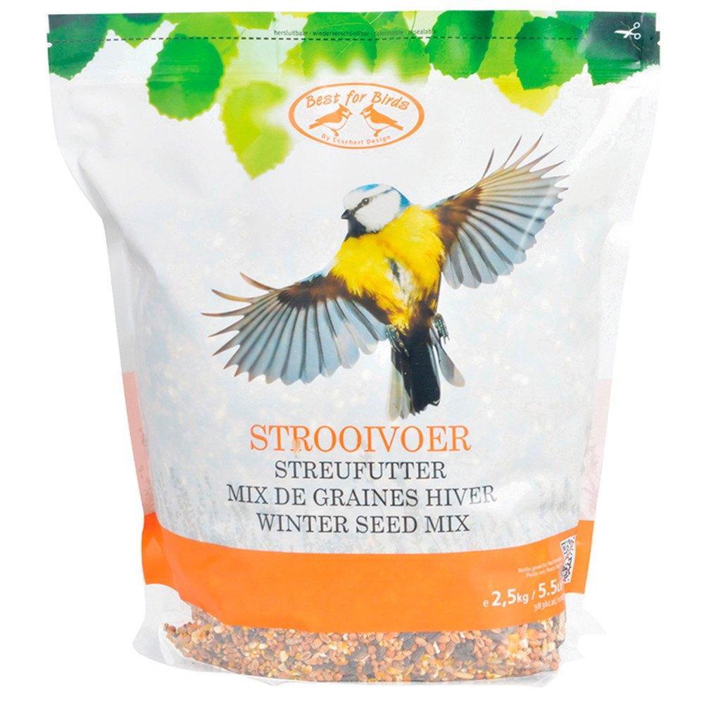 Vinter fugleblanding - 2,5 kg. Fuglefoder