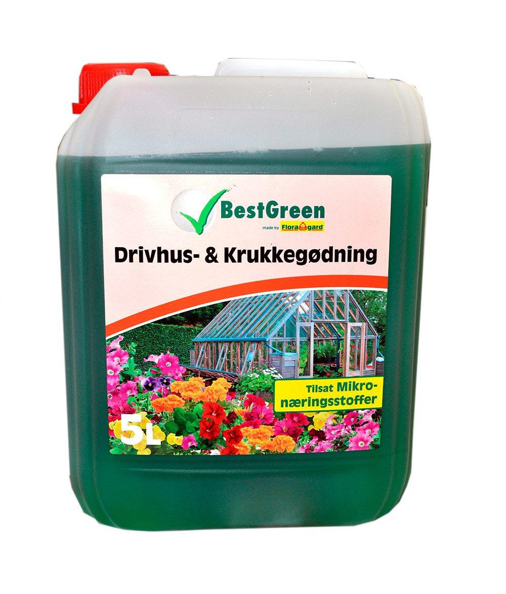 BestGreen Drivhus & Krukkegødning - 5 liter - NPK 3-1-4