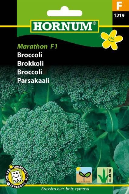 Broccoli, Marathon F1
